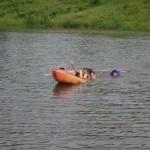 Sacando el Kayaks